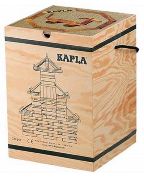 Kapla 280er Box + Kunstbuch Nr. 4 (beige)