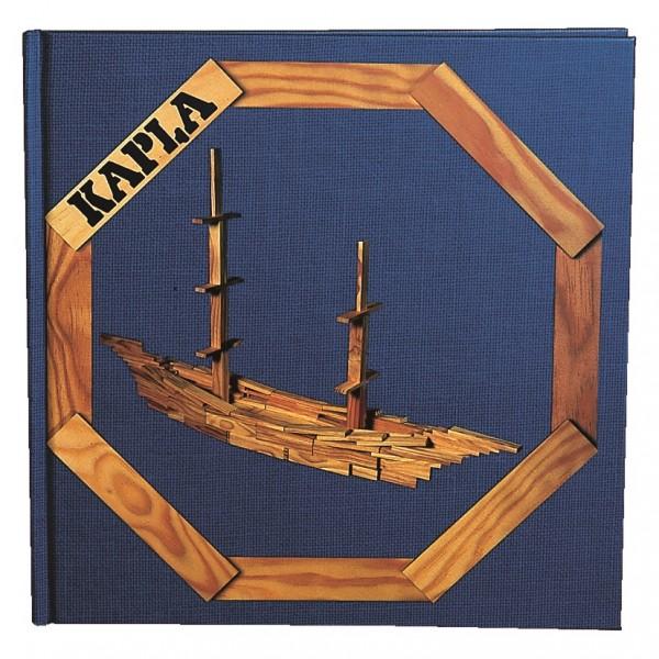 Kapla Kunstbuch Nr. 2 (blau)