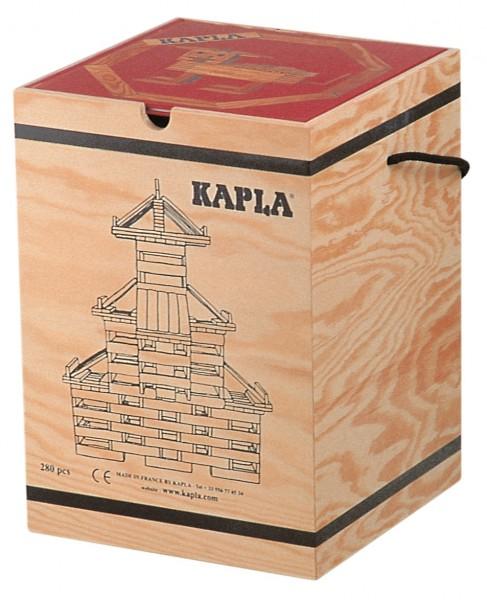 Kapla 280er Box + Kunstbuch Nr. 1 (rot)