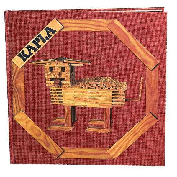 Kapla Kunstbuch Nr. 1 (rot)